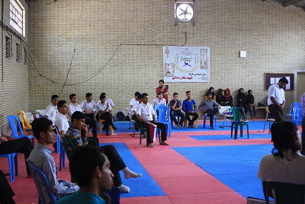 کلاس داوری سبک آزاد کاراته در بندرعباس 1393/03/30