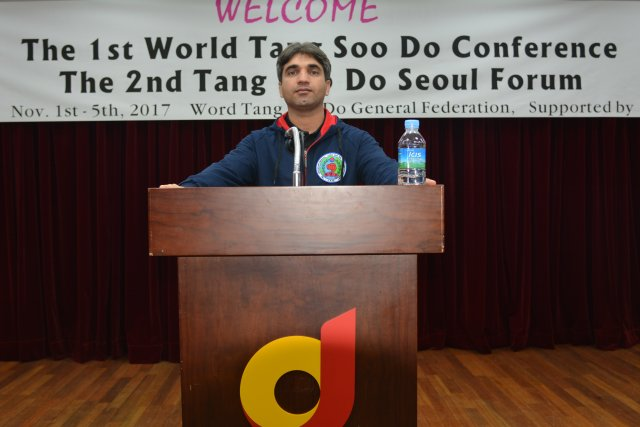 مسابقات جهانی و کنفرانس تانگ سودو در کره جنوبی 1396/08/08